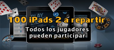 100 iPads de regalo en BetFair Poker