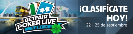 BetFair Poker Live Dublin